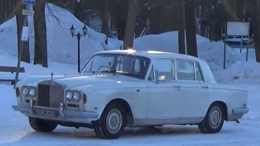 Watch A 1969 Rolls-Royce Shadow Trek To The Arctic Circle