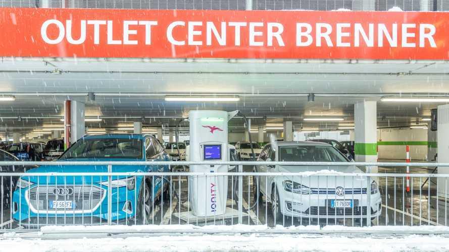 Auto elettrica, le ricariche Ionity da 350 kW arrivano al Brennero
