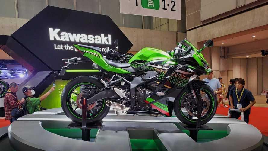 Kawasaki, 4 silindirli yeni modeli Ninja ZX-25R'ı tanıttı