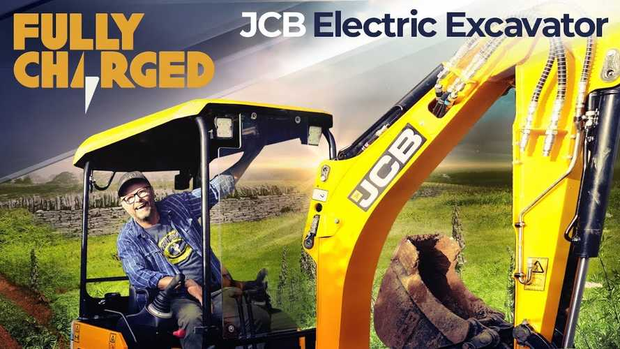 Fully Charged Digs Deeper Into Electrification: Electric Excavator