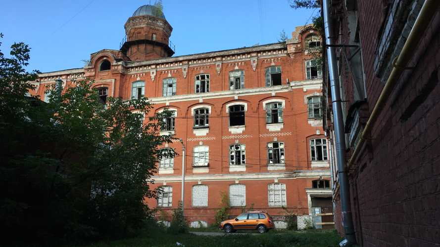 Lada Granta Cross и Морозовский городок