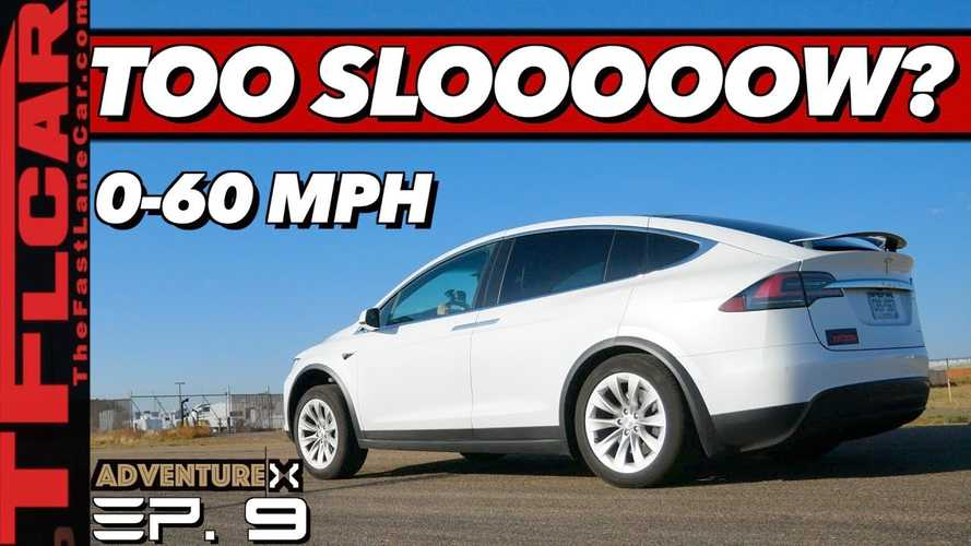 Why Is This Tesla Model X Is 1 Second Slower Than It Should Be?