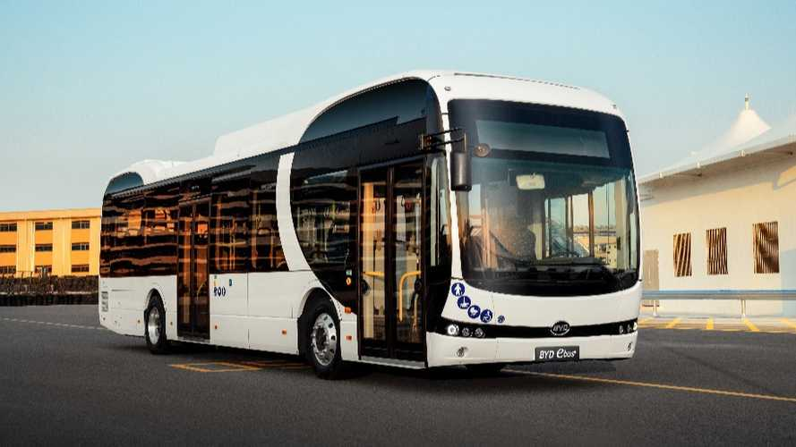 BYD Breaks Into German Bus Market With First Order