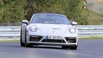Porsche 911 GTS Cabriolet spy photos