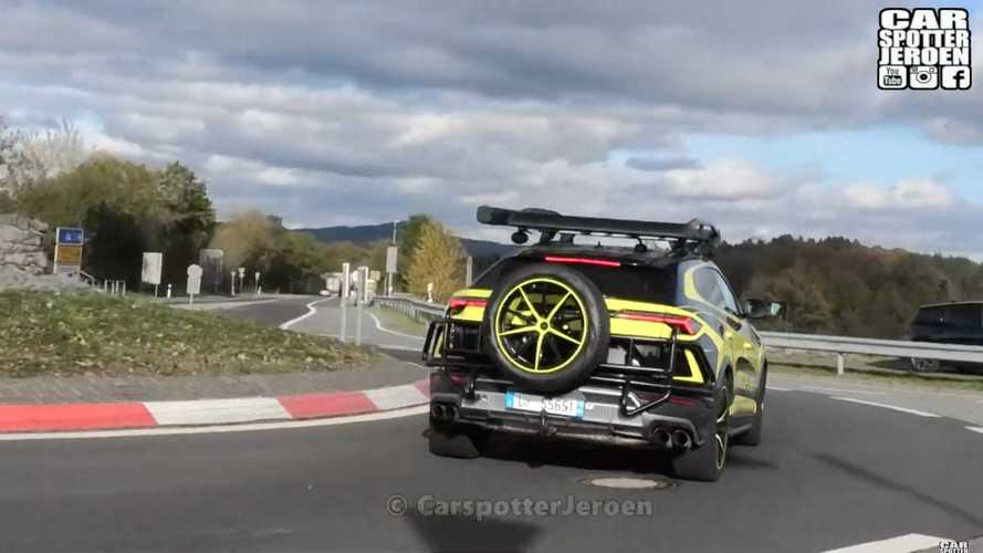 Lamborghini Urus ST-X spy video