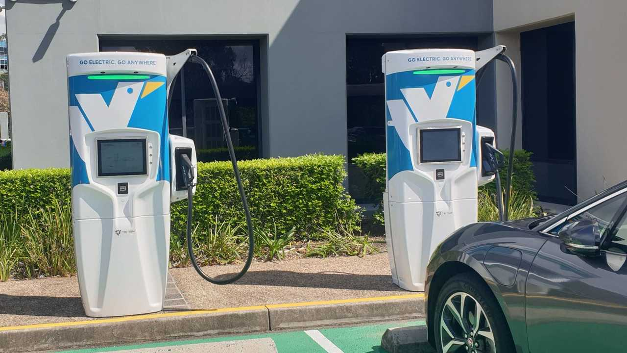 Evie Networks chargers in Australia