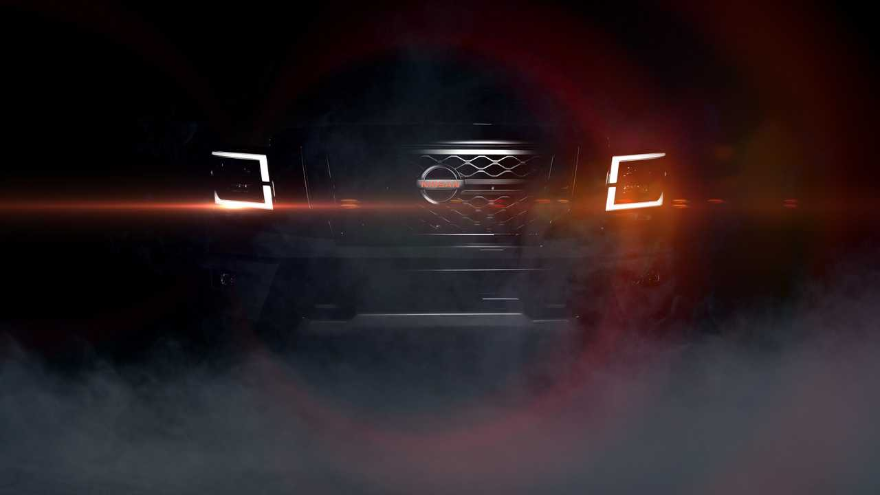 Nissan Frontier Pro 4X >> 'Hot' 2020 Nissan Titan Teased Ahead Of September 26th Debut