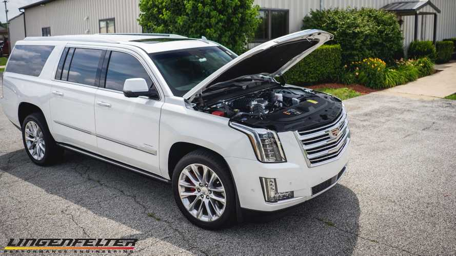 Cadillac Escalade Supercharged To 700 HP By Lingenfelter