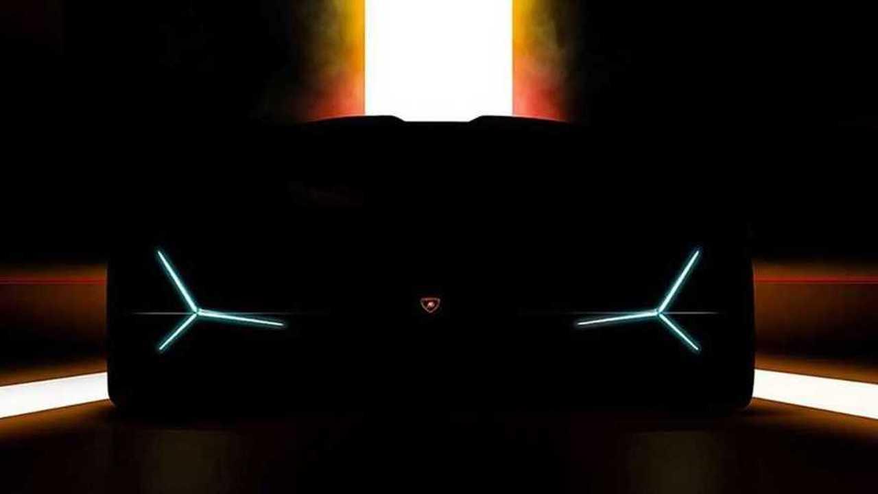 Teaser Lamborghini Francfort 2019