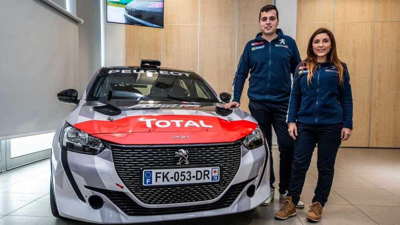 Peugeot 208 Rally 4 2020