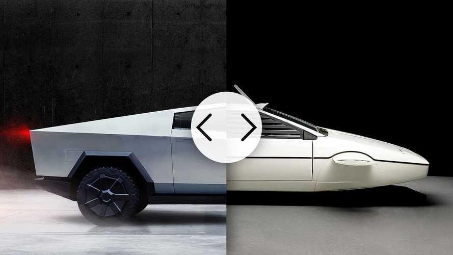 Tesla Cybertruck - Inspiré par le sous-marin de James Bond ?