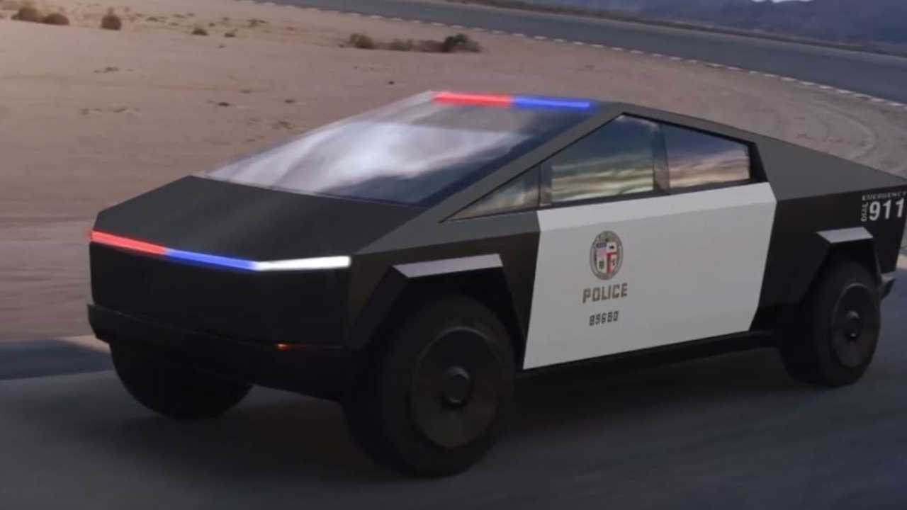 Tesla Cybertruck Renders