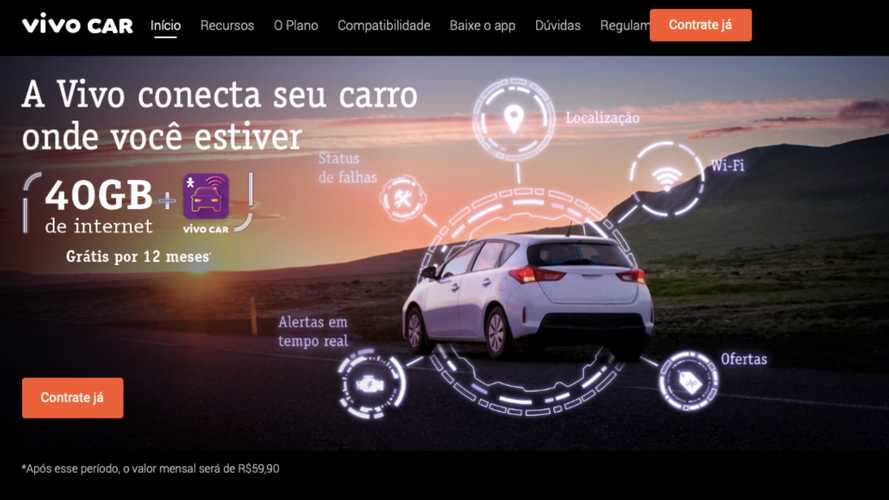 Operadora lança serviço com Wi-Fi e internet 4G para carros