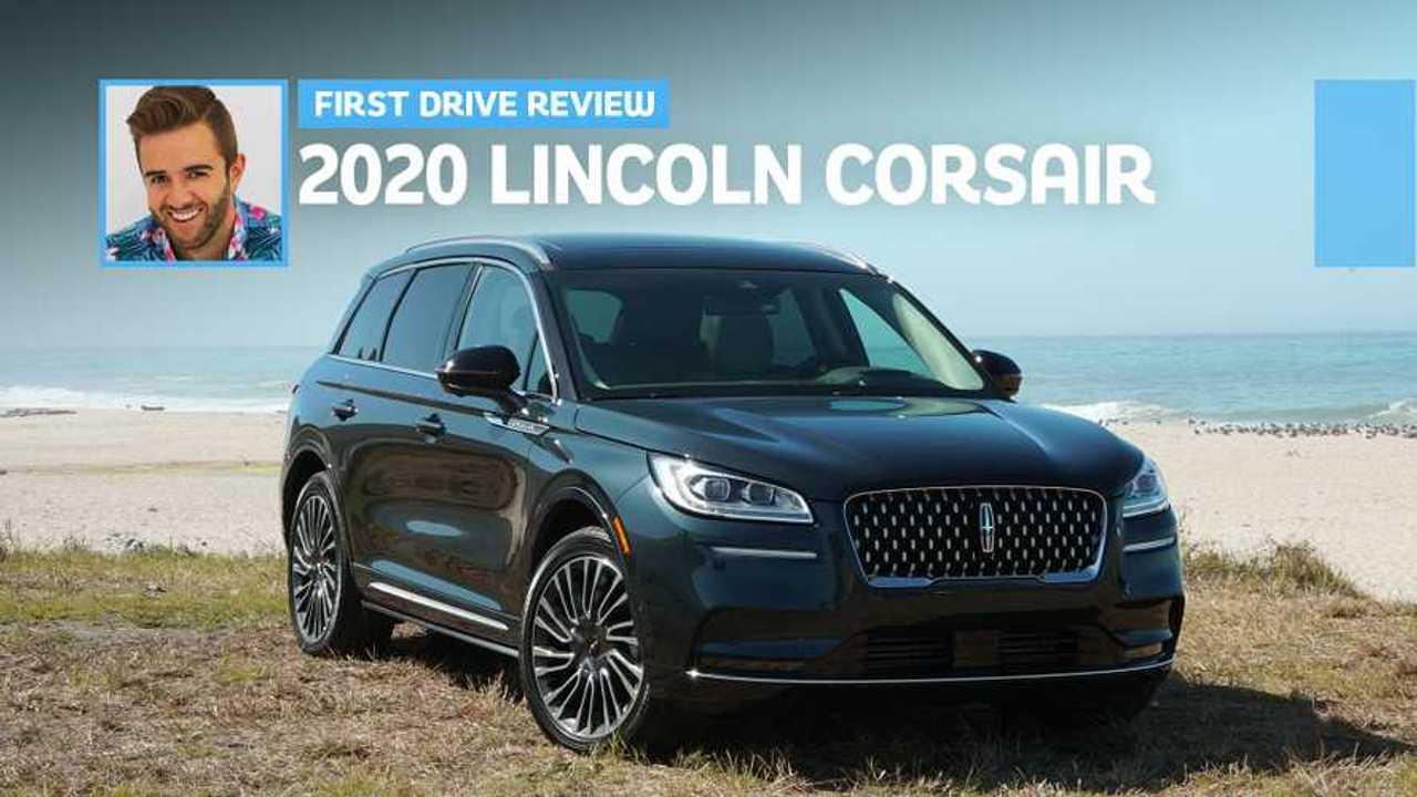 2020 Lincoln Corsair: First Drive