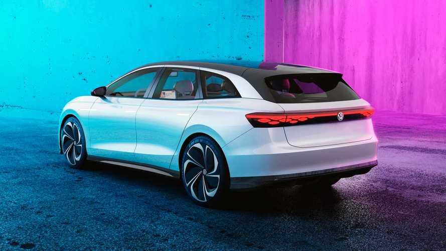 """Volkswagen ID. Space Vizzion, la wagon che si """"crede"""" una sportiva"""