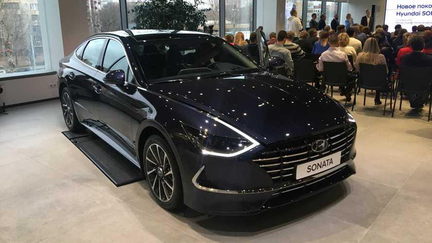 Мы узнали все рублевые цены на новую Hyundai Sonata