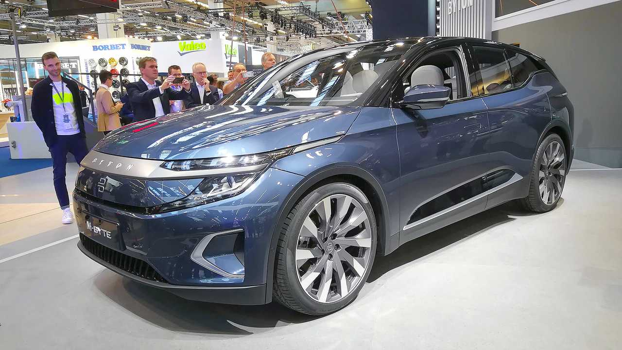 IAA 2019 - Elektroautos: Byton M-Byte