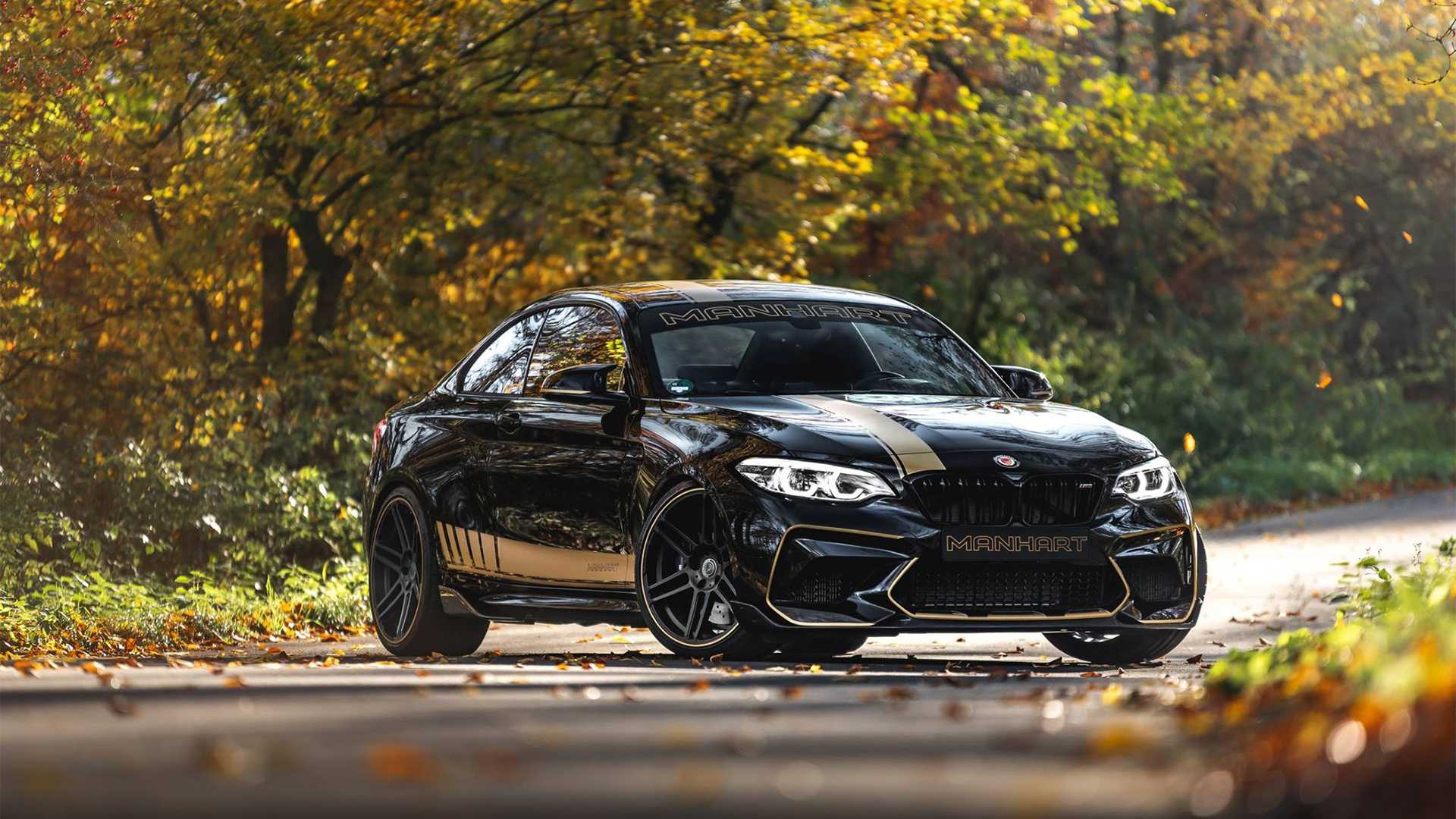 The Manhart MH2 550 Is A BMW M2 Competition On Steroids