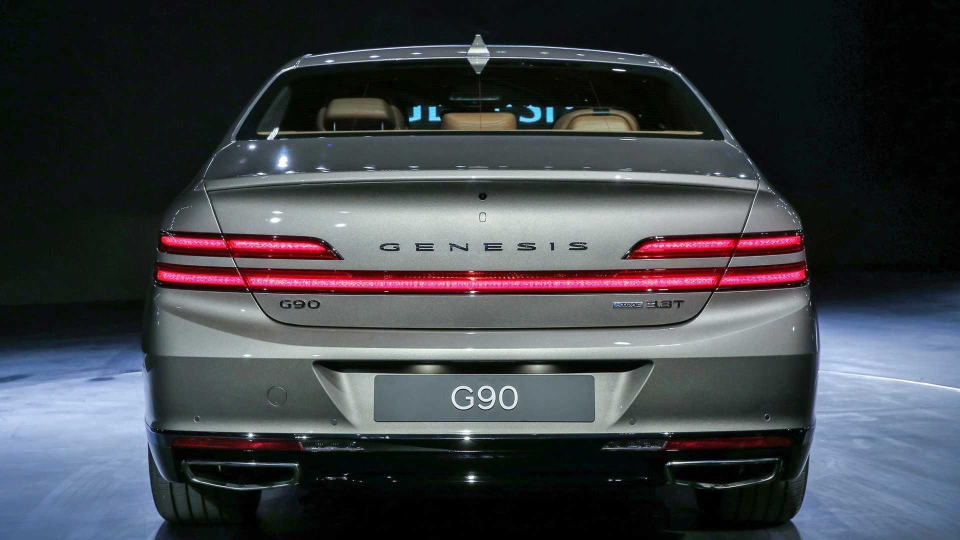 Genesis G90 Restyling (2019) 24