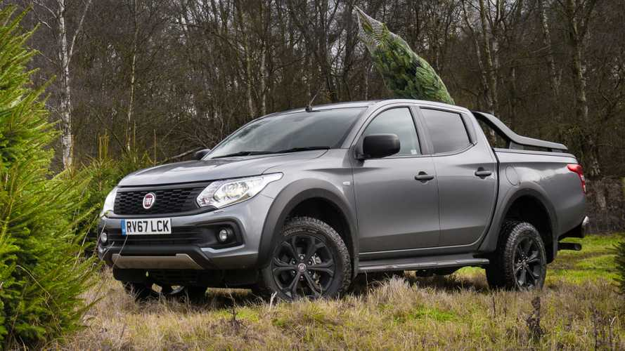 Fiat Fullback Christmas tree
