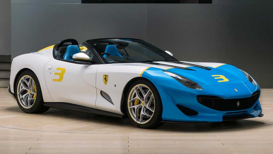 El Ferrari SP3JC es un increible roadster one-off, con motor V12