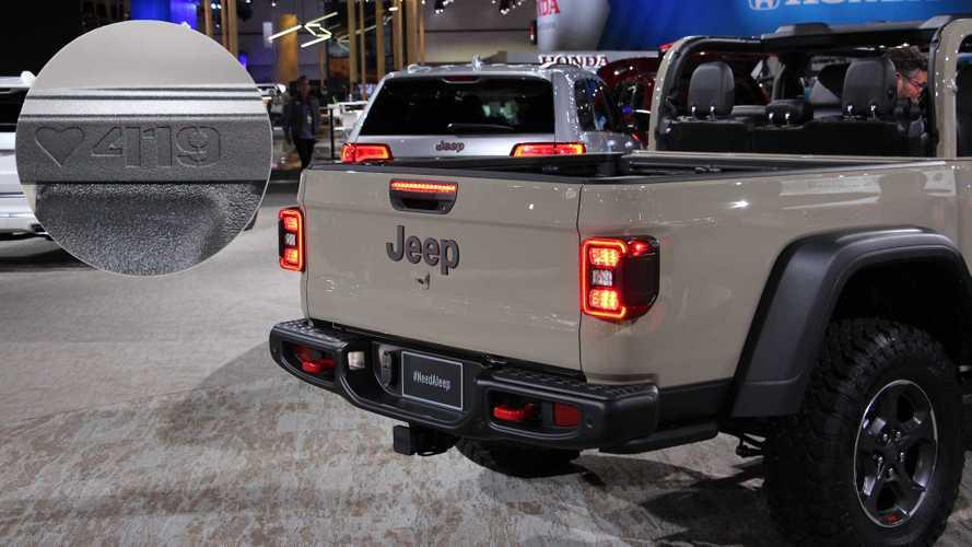 Jeep спрятал в новом Gladiator