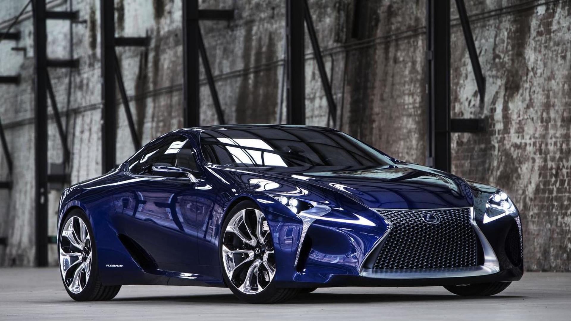 Lexus Registers Lc 500 And Lc 500h Names Likely For Lf Lc