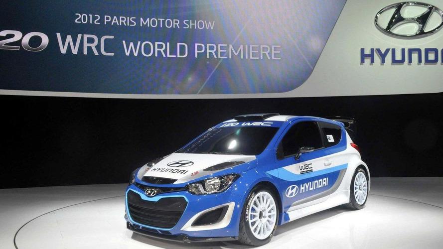 Hyundai plans WRC comeback with this i20