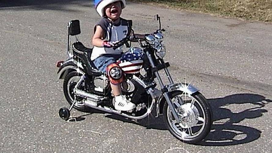 Kids just want to ride
