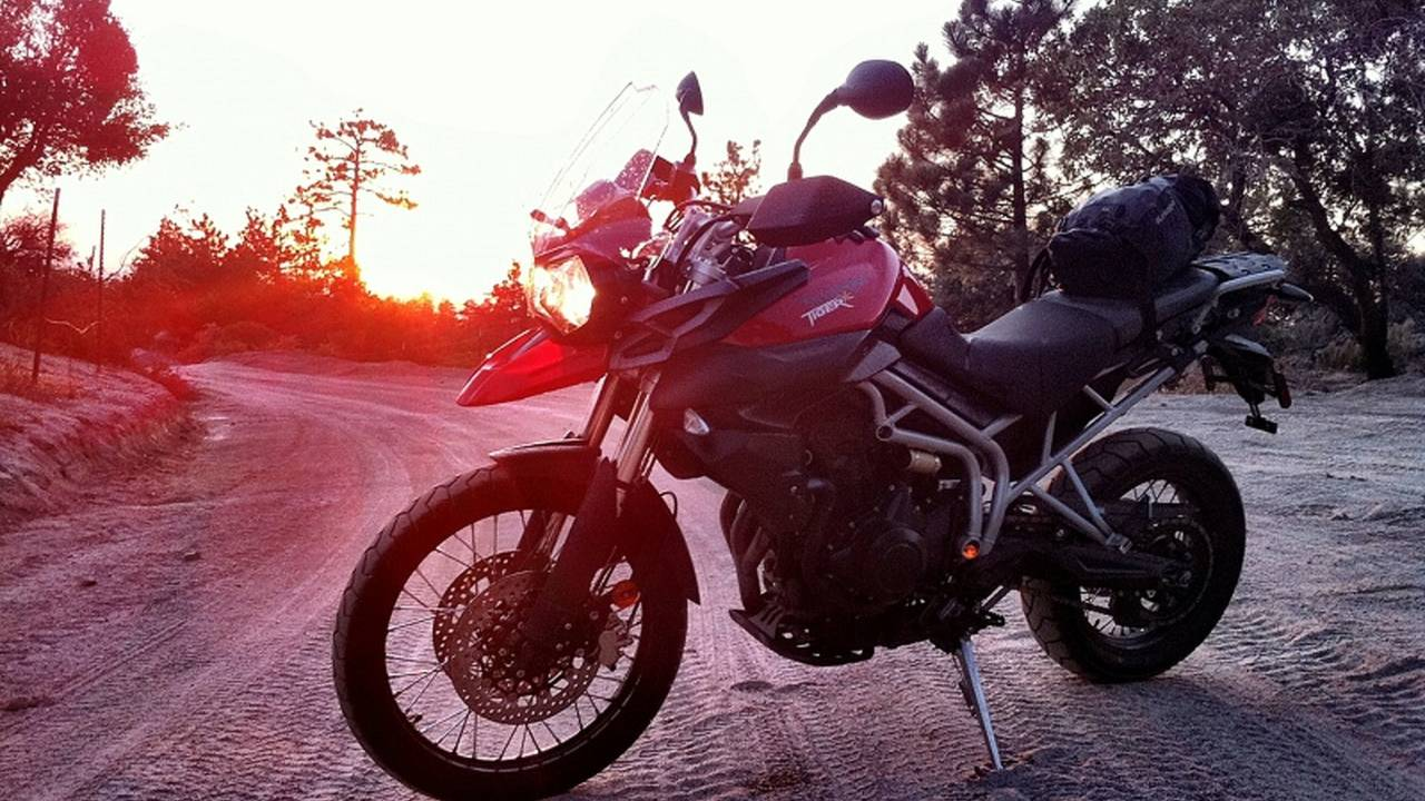 Riding the Triumph Tiger 800 XC off-road