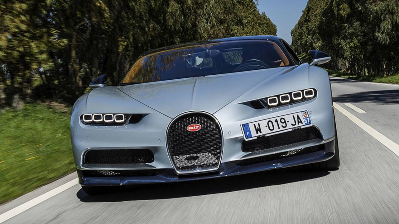Bugatti Chiron - 1.500 PS