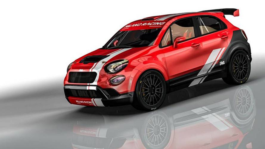 Fiat 500X recebe preparação para competir no rally