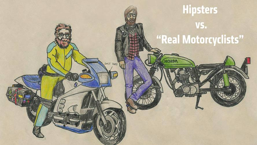 Hipsters vs. Real Motorcyclists: A Guide To Dressing Like a Badass Biker