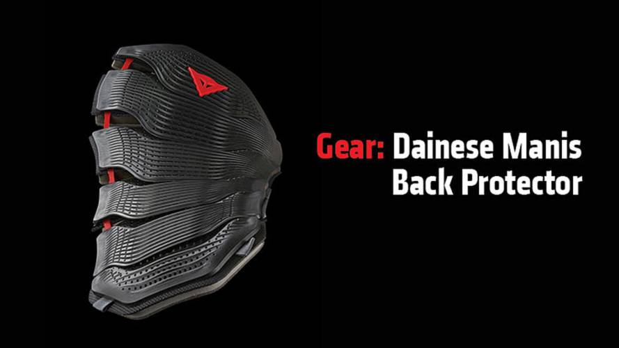 Gear: Dainese Manis Back Protector