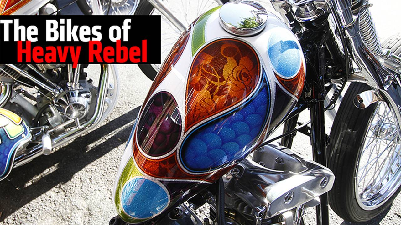 The Bikes of Heavy Rebel