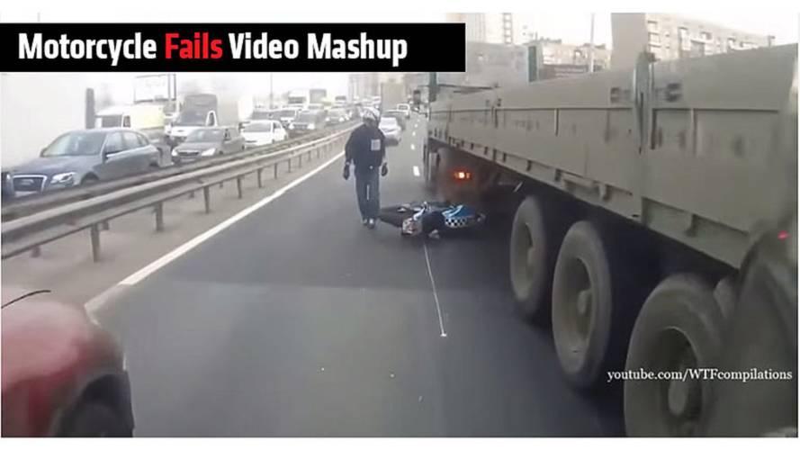 Motorcycle Fails Video Mashup