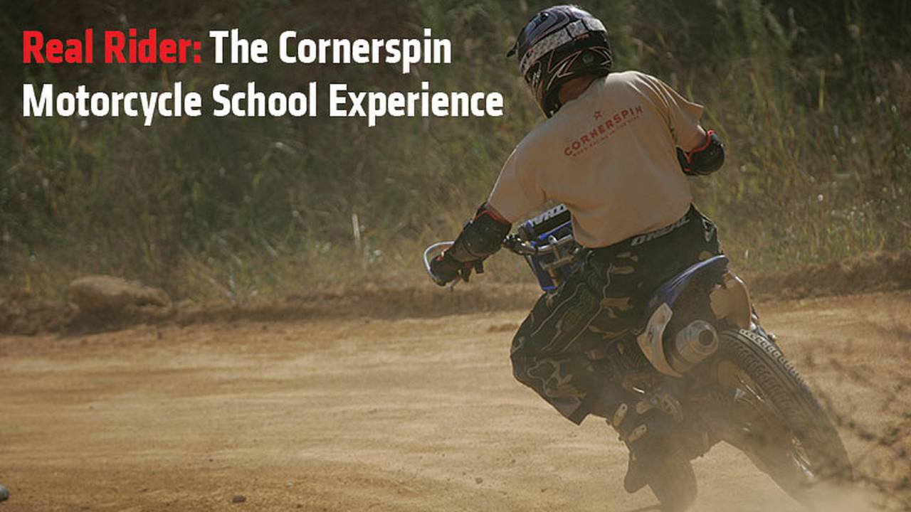 Real Rider: The Cornerspin Motorcycle School Experience