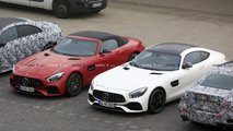 Mercedes-AMG GT Base Model spy photo