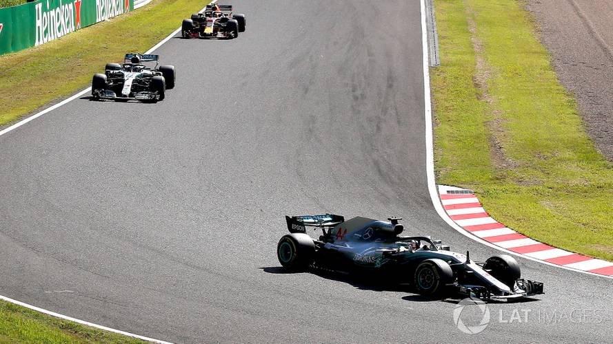 2018 F1 Japanese GP: Hamilton Wins As Vettel Clashes With Verstappen