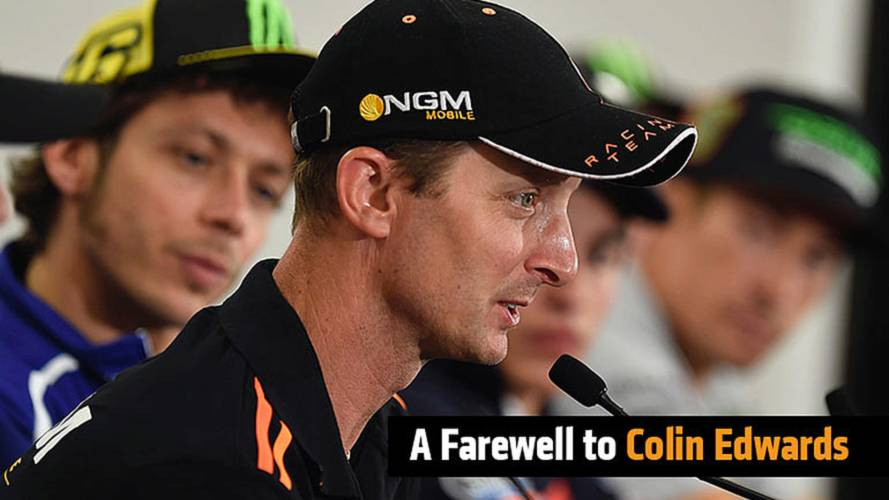 A Farewell To Colin Edwards