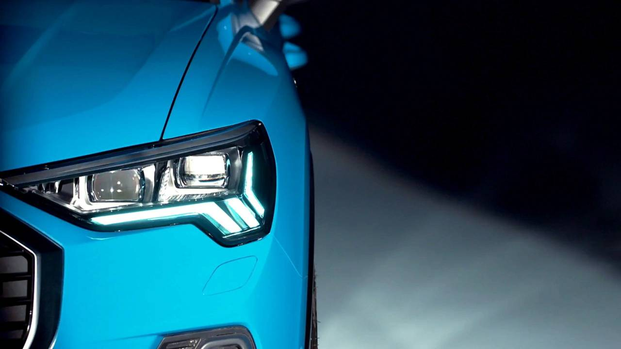 Audi Q3 teaser 2018