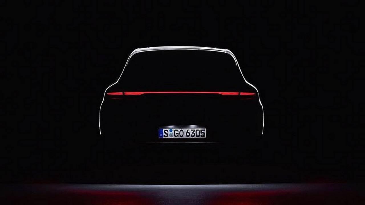 2019 Porsche Macan facelift teaser
