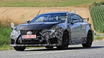 Lexus RC-F GT spy photo