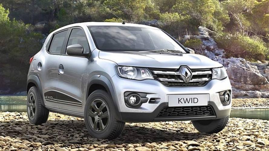 Renault Kwid recebe retoques visuais e mais equipamentos na Índia