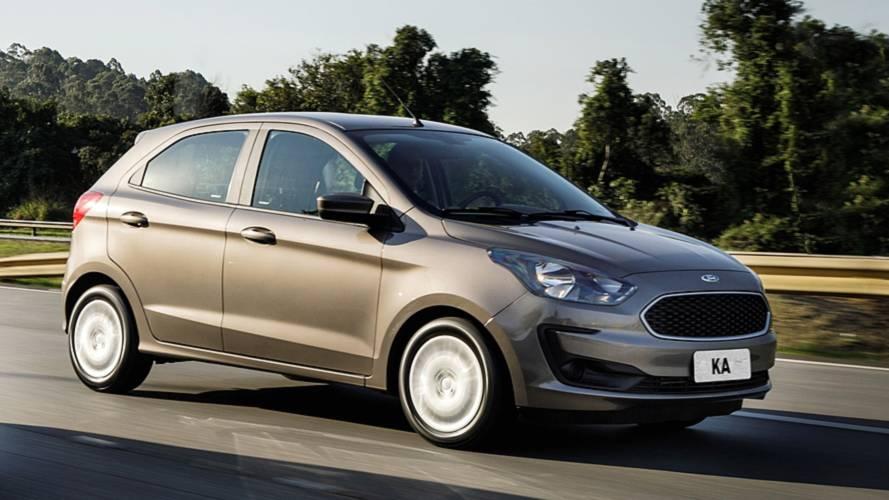 Ford Ka é o carro mais barato de manter no Brasil entre os mais vendidos