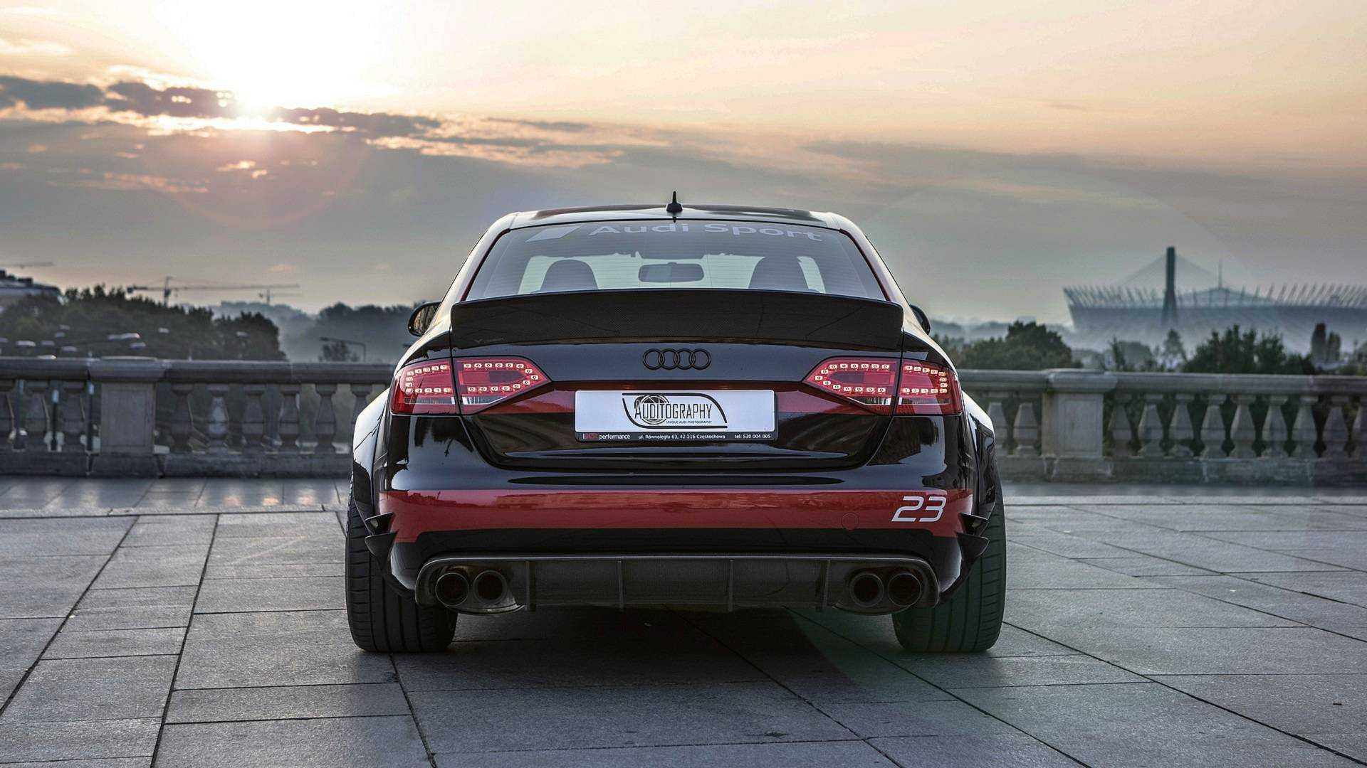 Front-Wheel-Drive Audi A4 2 0 TDI Turned Into V8 Quattro Machine
