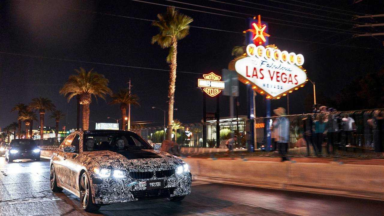 2019 BMW 3 Series teaser