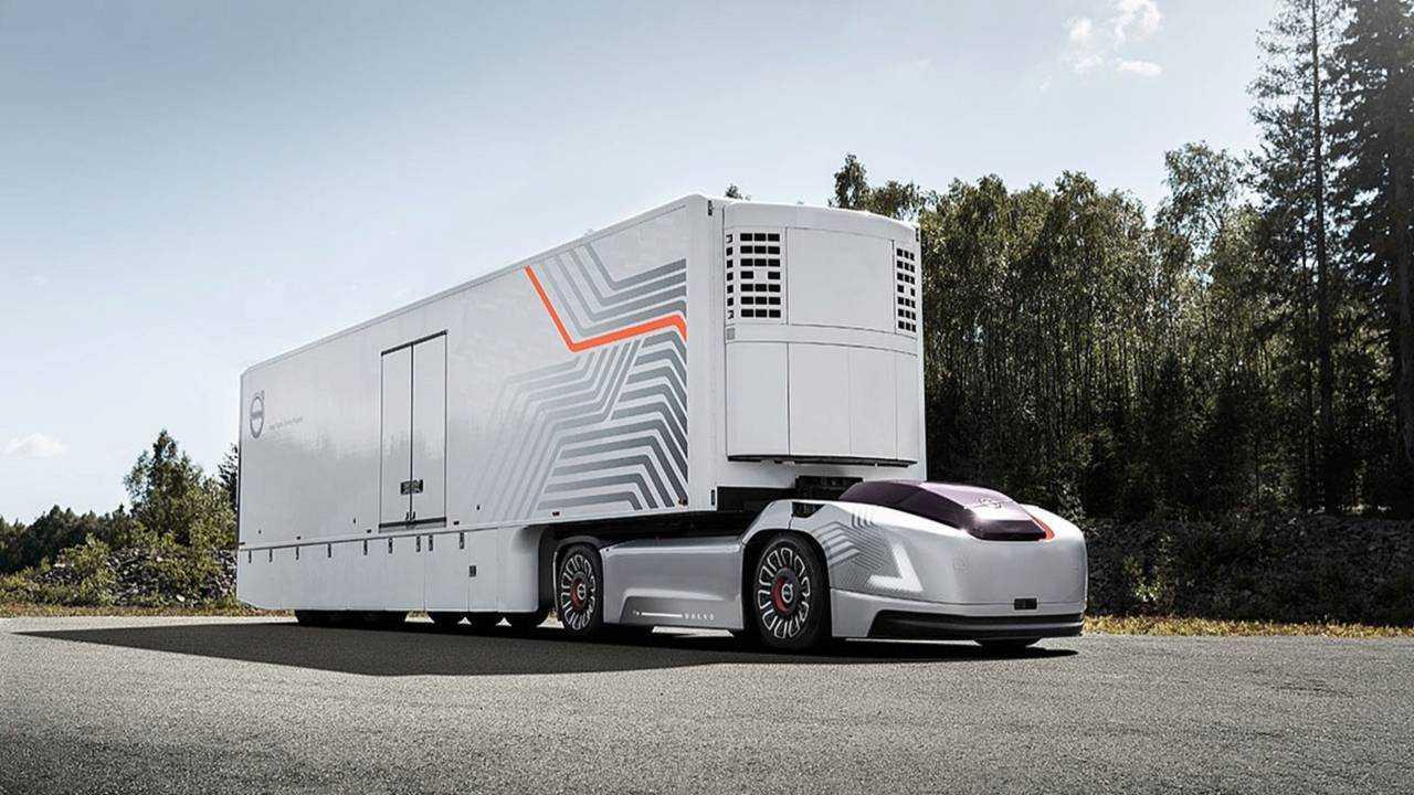 Camion autonome Volvo