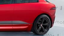 Rendering Jaguar I-Pace SVR
