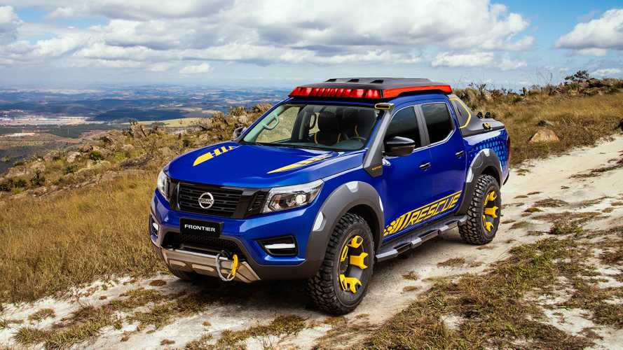 Nissan Frontier Sentinel konsepti, acil durumlara hazır